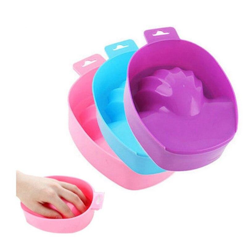 1pcs Hand Wash Nail Art Soak Pot Remover DIY Salon Nail Spa Bath Treatment Manicure Tools