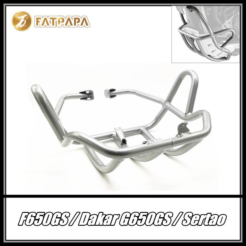 حماية قضبان المحرك ضد الحوادث ، تحل محل F650GS 1999-2008 F650GS Dakar 2000-2007 ، G650GS 2008-2016 G650GS Sertao 2010-2015