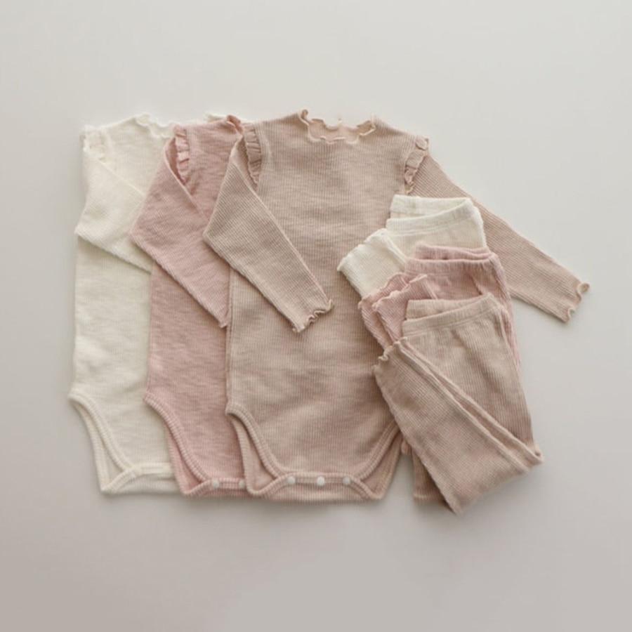 Комплекты одежды для маленьких девочек одежда принцессы для новорожденных девочек боди + штаны, детская одежда для маленьких девочек одежд...
