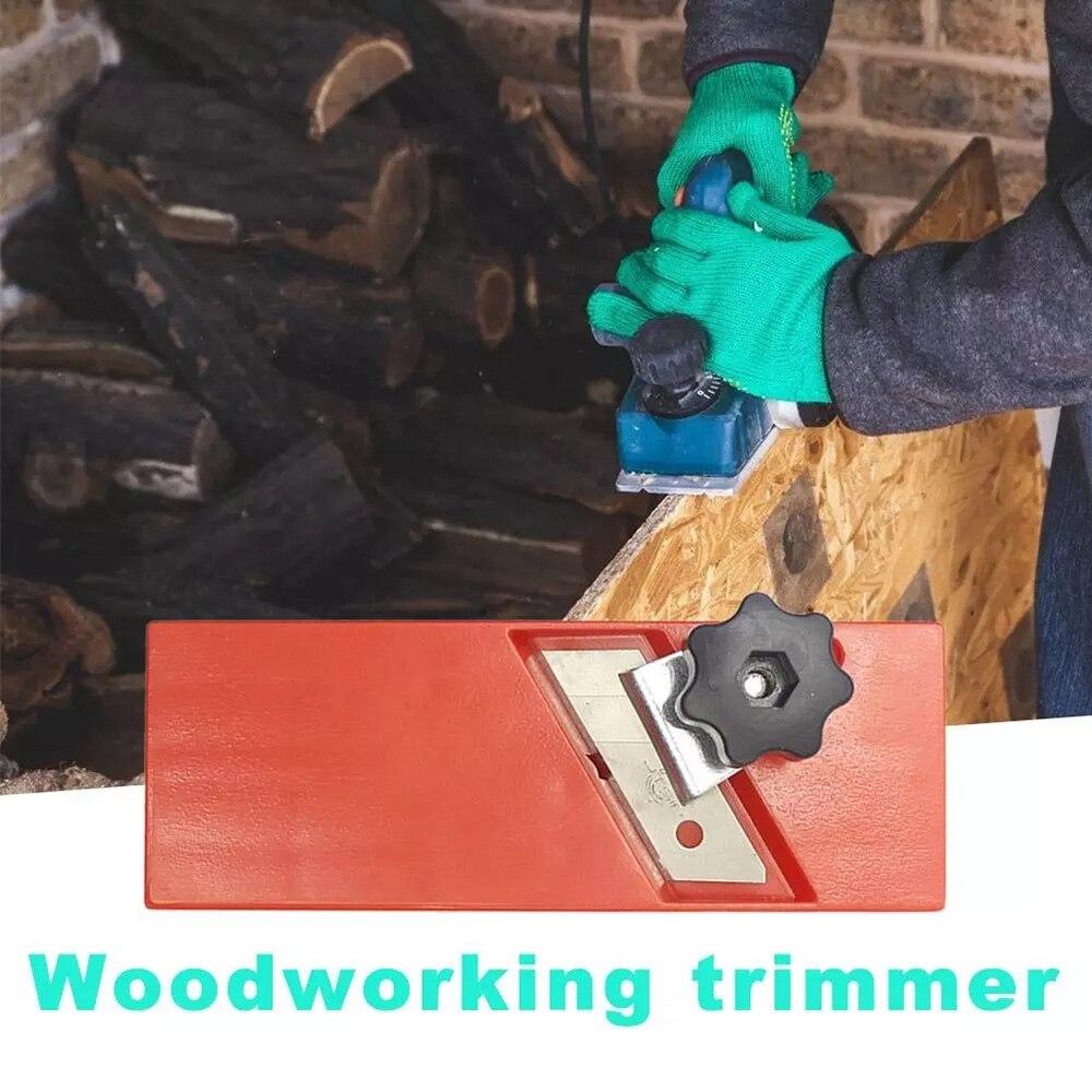 Rabot en bois plaque de plâtre manuelle bord de bois coin plan 45 degrés biseau rabot manuel chanfreinage et coupe