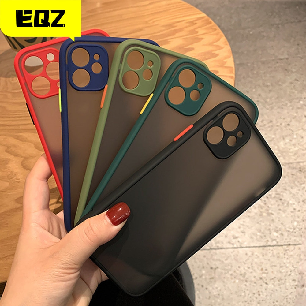 Camera Protector For Apple iPhone 11 case For iphone 12 mini Pro max case 7 8 6 6S Plus XR X XS MAX