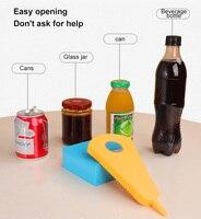 Крышка банки для бутылки Тыква 4 в 1 ключ Многофункциональный консервный нож кухонный инструмент Универсальный консервный нож для бутылок