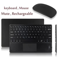 android windows system bluetooth support keyboard wireless touchpad portable tablet for ipad huawei lenovo sansumg tab
