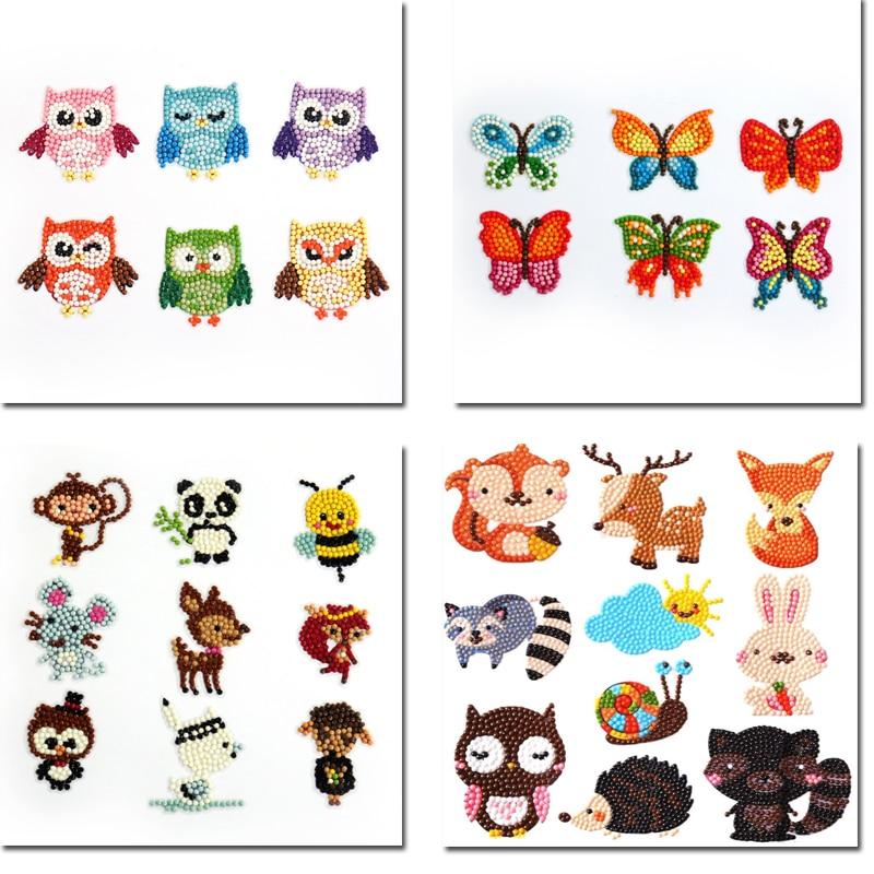 Легко алмазные наборы для рисования для детей 5D DIY алмазные наборы Dotz краски по номерам ручная работа стикер искусство и ремесла для детей
