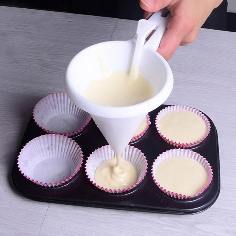 Регулируемые Инструменты для выпечки конфета с глазурью кухонные воронки шоколадные Аксессуары для выпечки дозатор крема для печенья кексы оладьи