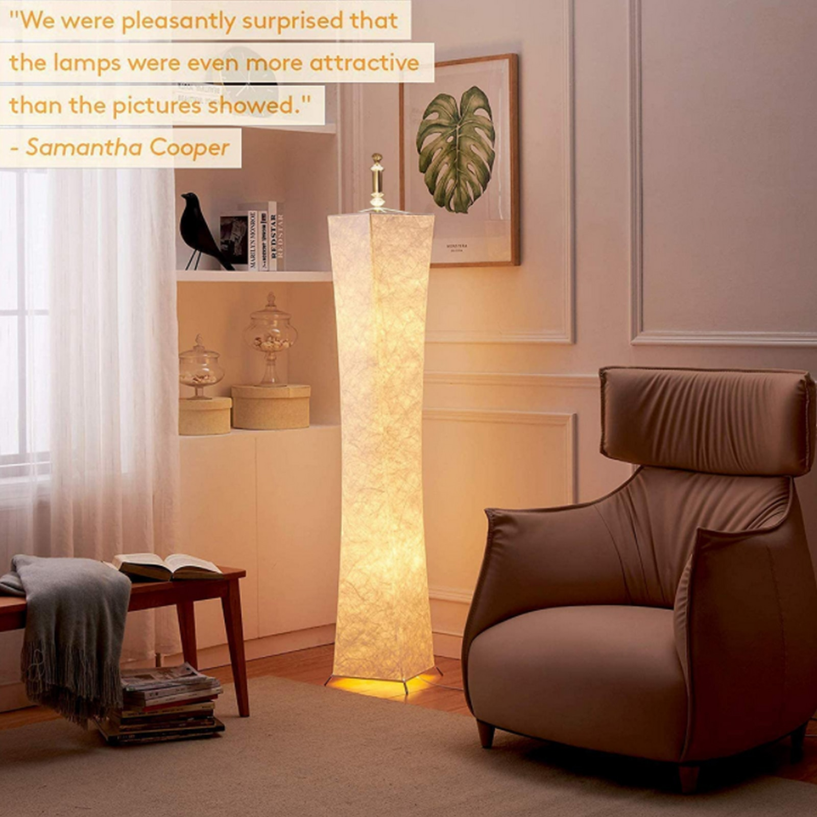 RGB LED Floor Lamp Nordic  Atmosphere Lighting Small Waist Colorful Light Living Room Home Bedroom Decor Remote Control Modern enlarge