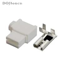 15102050sets 1 pin 6 3mm 250 flag wiring plug spring nylon hard sheath amp female connector socket 176497 1 dj7019 6 3 21