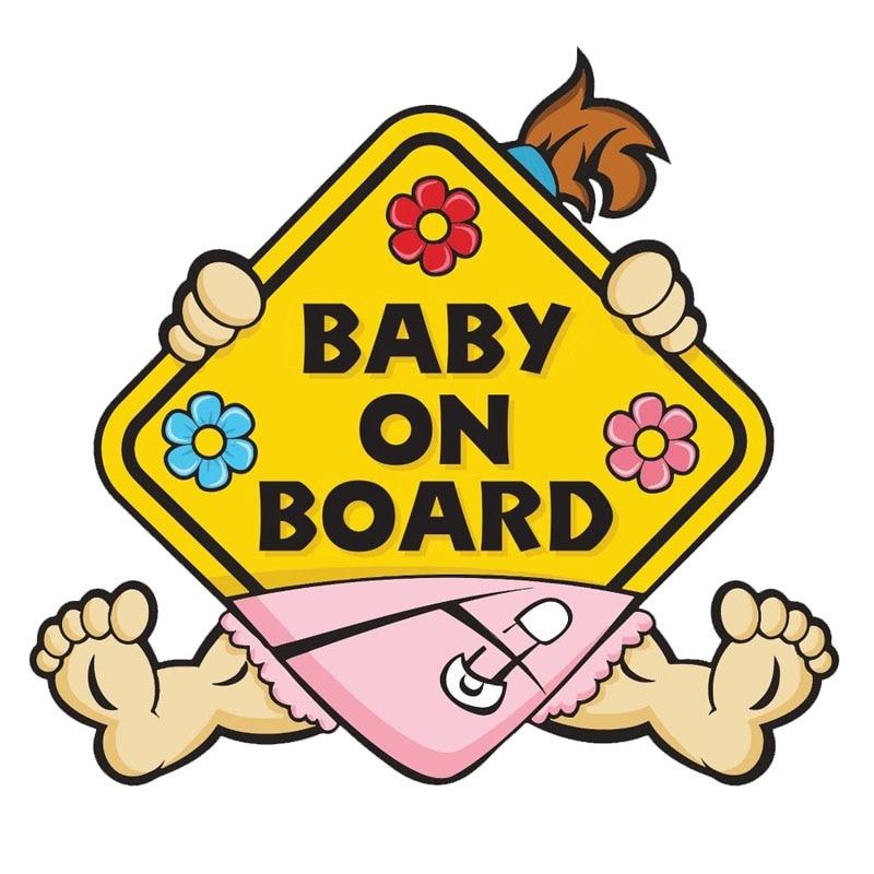 Предупреждающая наклейка для автомобиля Dawasaru Baby on Board, наклейка для защиты от царапин, наклейка для ноутбука, грузовика, мотоцикла, автомоби...