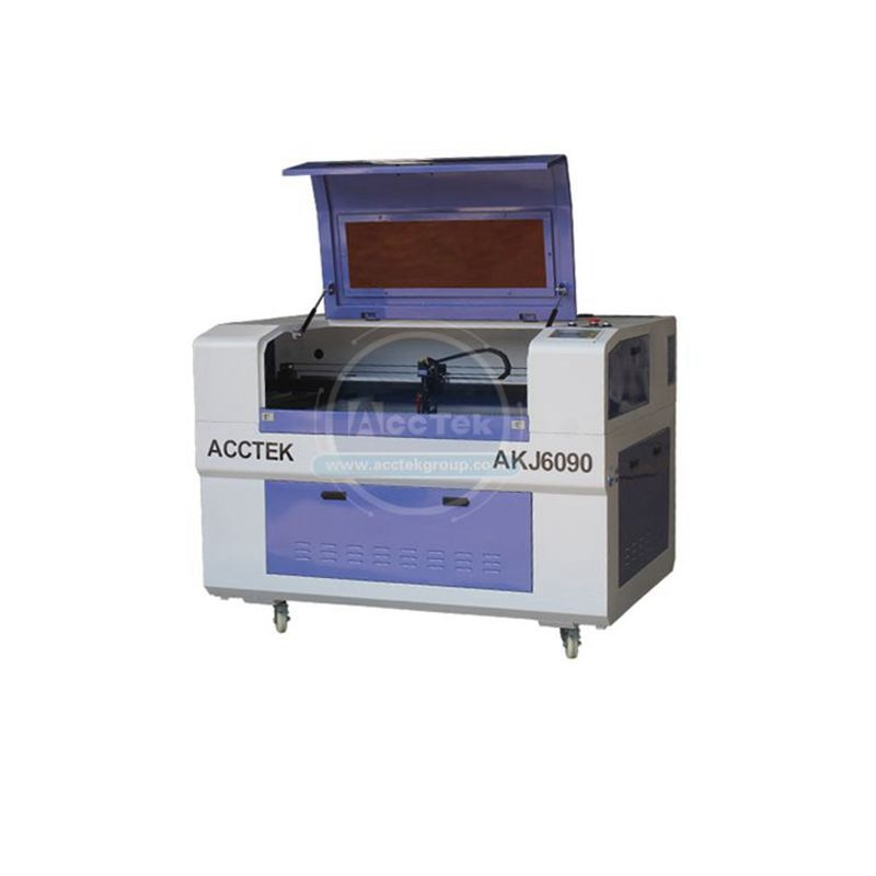 80W CO2 CNC Laser Cutter Cutting Machine for Acrylic Leather Rubber Paper
