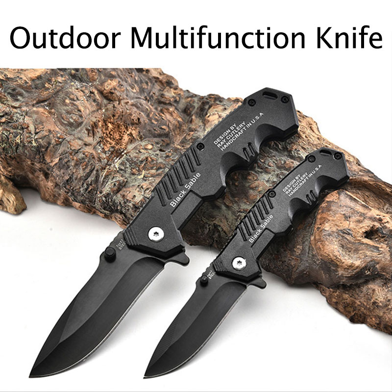 folding knife 7cr17mov g10 abs handle blade tactical camping survival combat pocket knives edc hunting multi tools knife sheath Folding Knife Tactical Survival Knives Hunting Camping Blade Edc Multi High Hardness Military Survival Knife Pocket 1pc