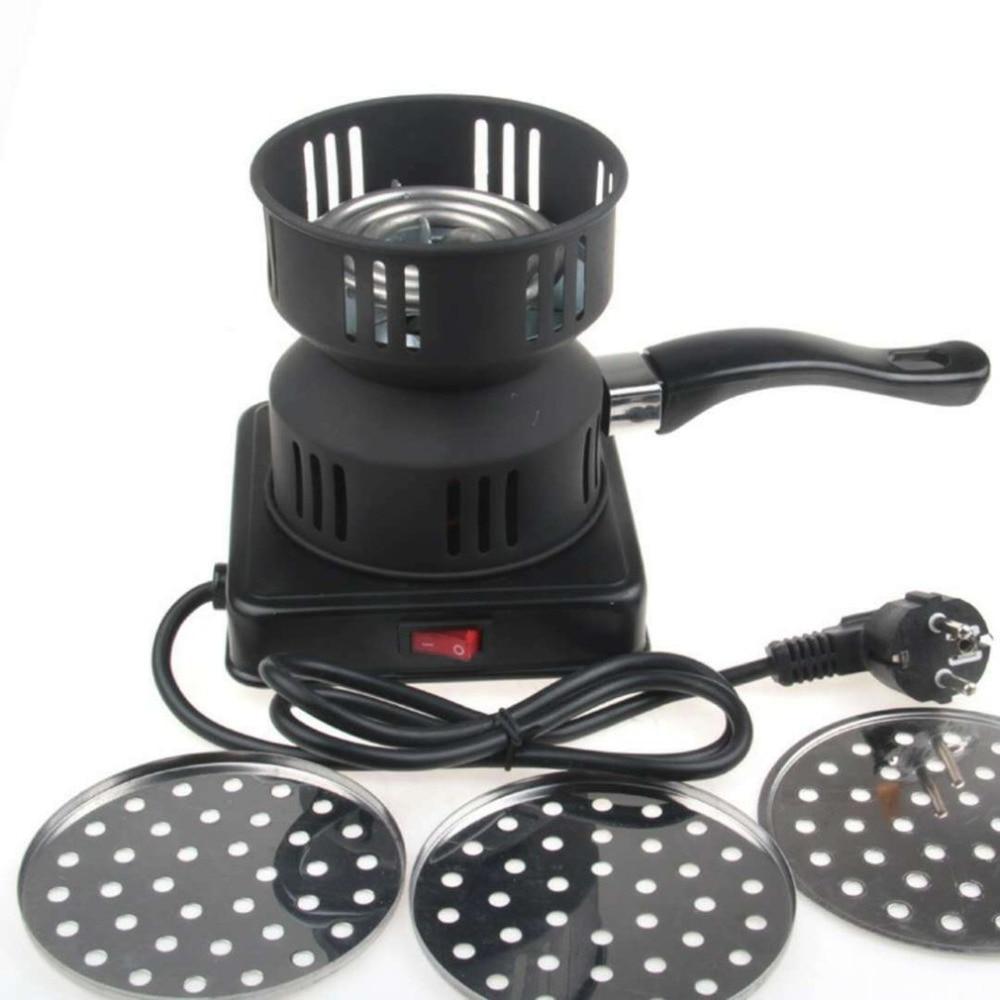 Estufa de carbón de 650w, quemador eléctrico de carbón para Shisha Hookahs Chicha Narguile, encendedor de carbón, accesorios DIY