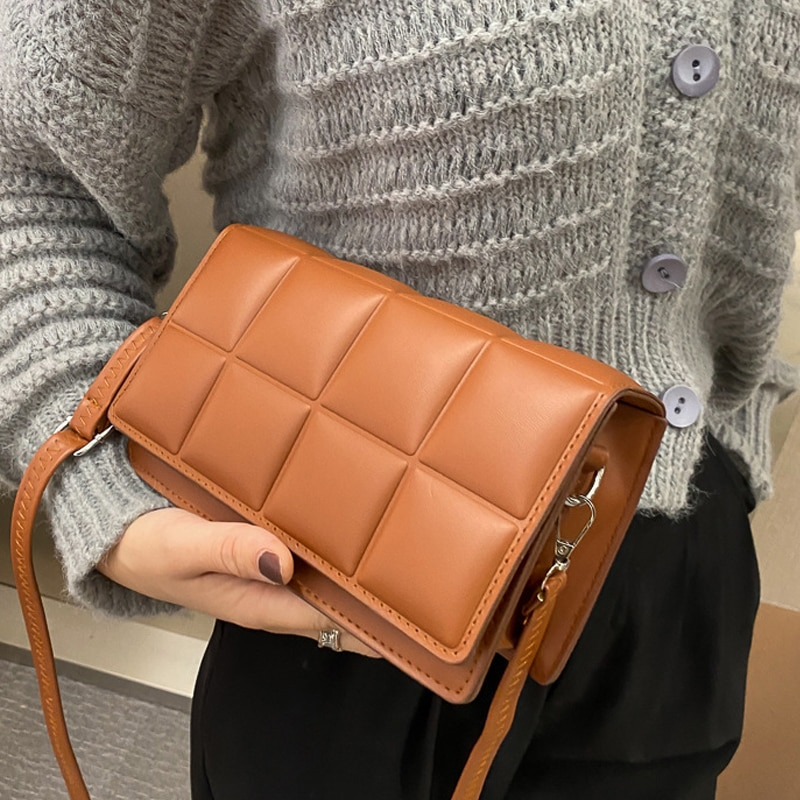 2021 High Quality Cell Phone Bag Women Handbag Luxury Messenger Bag Soft pu Leather Shoulder Bag Fashion Ladies Crossbody Bags