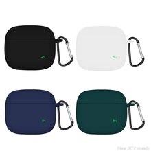 Non-slip Protect Case for ZMI PurPods Pro Case Solid color Silicone Wireless Bluetooth Earphones Cov