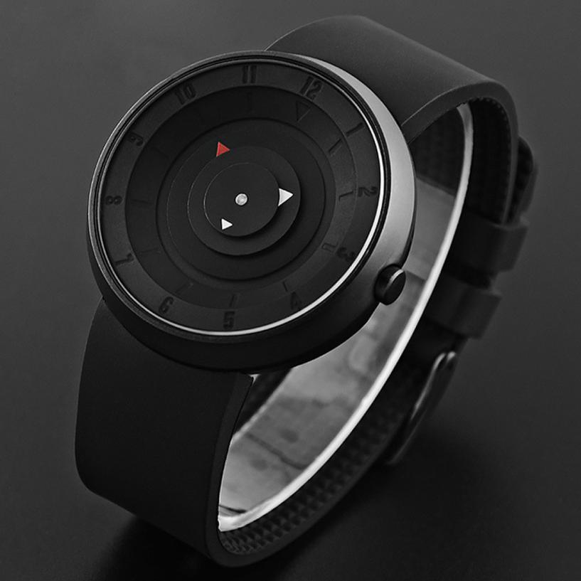 2020 креативные часы, мужские спортивные часы с большим циферблатом, черные силиконовые кварцевые наручные часы, низкая цена, Прямая поставка...