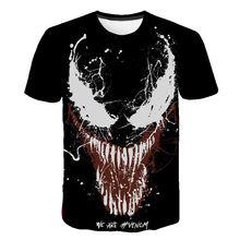 2020 T Shirt Men Women Newest Marvel Venom T-shirt 3D Printed Cool Tees Casual Venom Boy Girl Children's Short Sleeve Tops