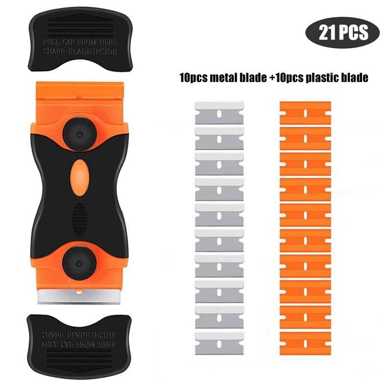 Двухсторонний-скребок-с-пластиковой-ручкой-комбинированный-портативный-и-сменный-Многофункциональный-двухсторонний-скребок