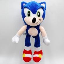 25 cm Kawaii Sonic peluche jouet hérisson PP coton peluche animaux poupée enfants jouets anniversaire noël cadeau pour enfant