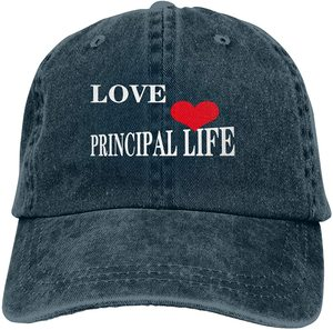Love Principal Life Sports Denim Cap Adjustable Unisex Plain Baseball Cowboy Snapback Hat