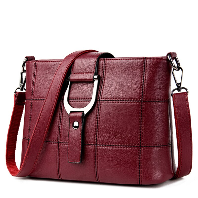 السيدات لينة جلدية موضة حقائب كتف حقائب الماركات الشهيرة للمرأة رفرف حقائب كروسبودي عادية للنساء حقيبة ساعي Bolsos