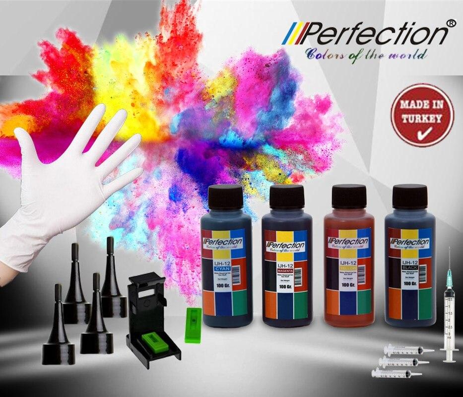 PERFECTION 4x100 мл. Картриджи совместимые с HP Officejet J4660 AIO 901 и 901xl