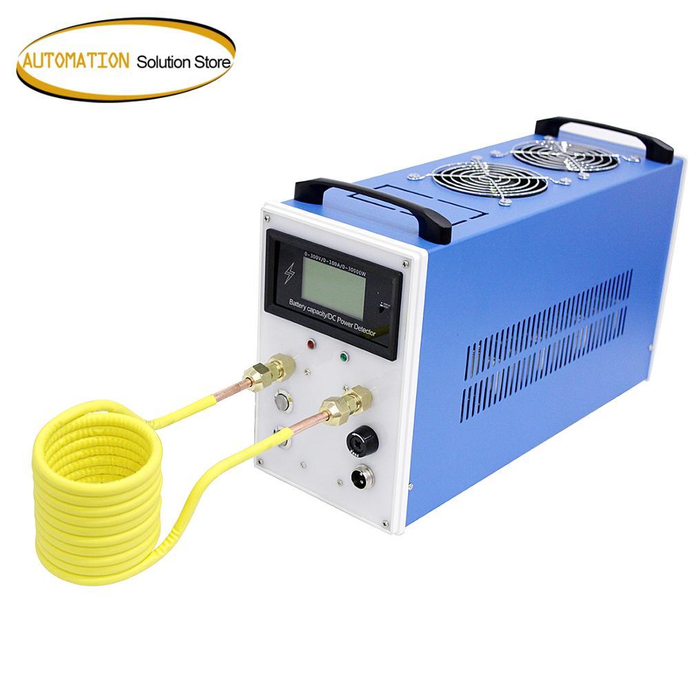 ZVS-سخان الحث 2800 واط ، فرن صهر المعادن ، طاقة قابلة للتعديل والتحكم في درجة الحرارة ، 1-1000 درجة مئوية ، جديد