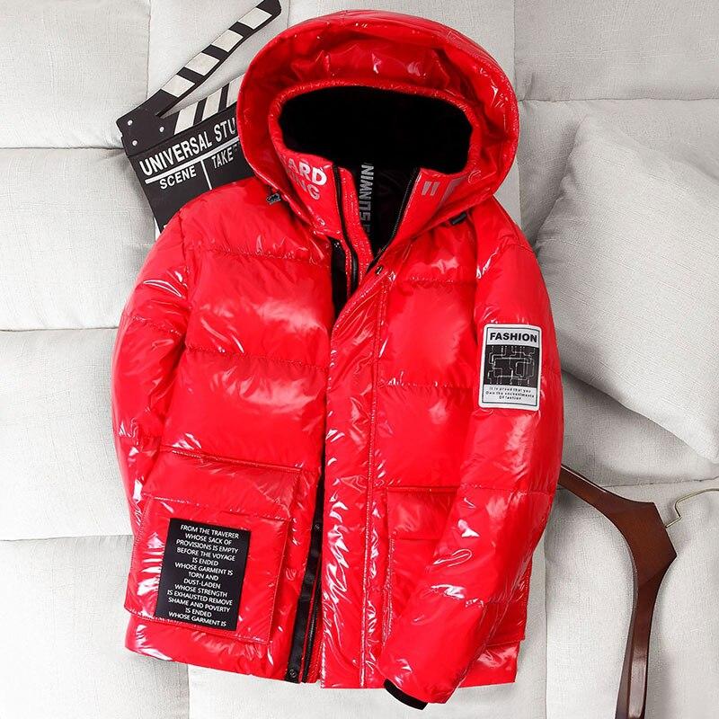 قصيرة أسفل معطف جديد 2020 لامعة أزياء الشتاء المرأة زائد حجم فضفاضة سترة مقنعين سميكة الباردة واقية قميص الدافئة المرأة ستر