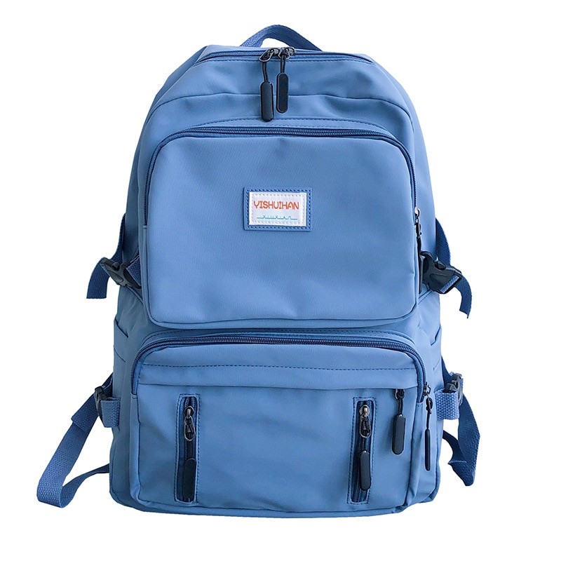 New Japan Style School Bags Thick Nylon Waterproof Student Boy Girl Backpack Large Capacity Shoulders Bag For Teenager Schoolbag