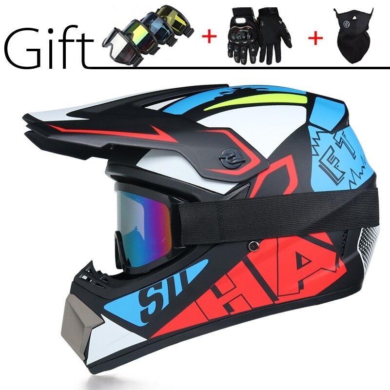 Casco Para motociclista todoterreno, bicicleta clásica MTB DH, casco de carreras para motocross, casco de bicicleta de descenso