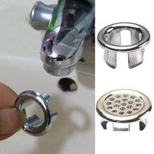 อ่างล้างหน้ารอบแหวน Overflow ฝาครอบอะไหล่อ่างล้างจานอ่างล้างหน้าพลาสติก Tidy Trim ห้องน้ำอ่างล้างหน...