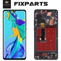 tft lcd for huawei p30 touch screen for huawei p30 pro lcd display digitizer for p30 pro vog l29 ele l29 mar lx1m no fingerprint