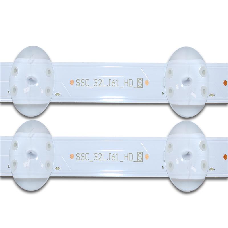 New 20 PCS 8LEDs 600mm LED backlight strip for LG 32LJ510U HC320DXN-ABSL1-A142 SSC_32LJ61_HD S SSC_32LJ61_HD_8LED enlarge