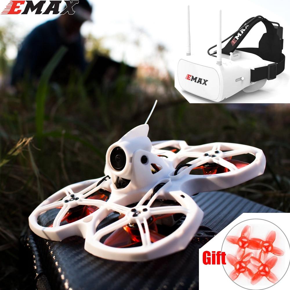 Квадрокоптер Emax Tinyhawk S II, с камерой F4 16000KV Nano2 и светодиодный аккумулятором 1/2 с 5,8G FPV