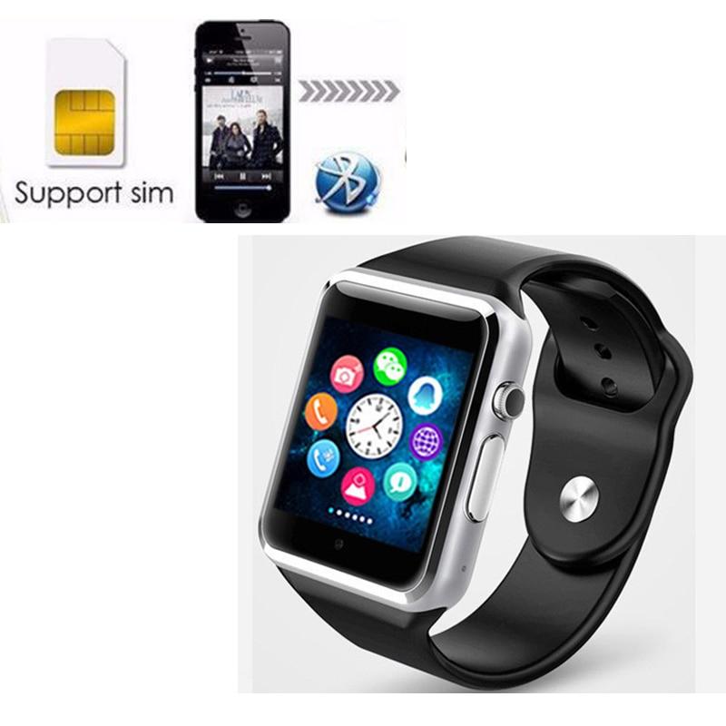 DZ09 inteligente reloj Bluetooth 2G GSM SIM llamada de teléfono soporte de tarjeta TF Cámara relojes para iPhone Samsung HuaWei Xiaomi