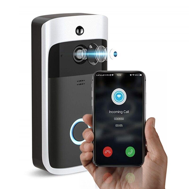 New Ring Video Doorbell Wireless Intercom Ring Video Doorbell Smart WiFi Video Doorbell Electronic Doorman With Camera Bell enlarge
