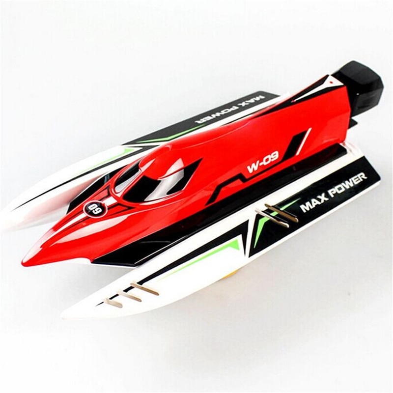 Wltoys Wl915 Rc Boat Ship 2.4Ghz 2Ch Radio Remote Controlled Boat Brushless Motor High Speed 45Km/h Racing Rc Boat Toys for Boys enlarge