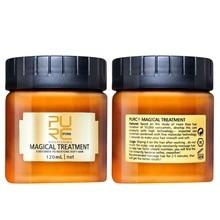 120/60ml masque de traitement magique 5 secondes répare les dommages restaurer les cheveux doux pour tous les types de cheveux traitement de cheveux et de cuir chevelu à la kératine