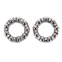 2 pièces centre perle cadre 9 perle vélo poignée perle cadre avant fourche boule bol ensemble roulement accessoires