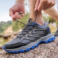 TKN hommes chaussures de randonnée en plein Air Air Mesh respirant hommes escalade baskets chaussures hommes Trekking Trail chaussures deau à séchage rapide 1982