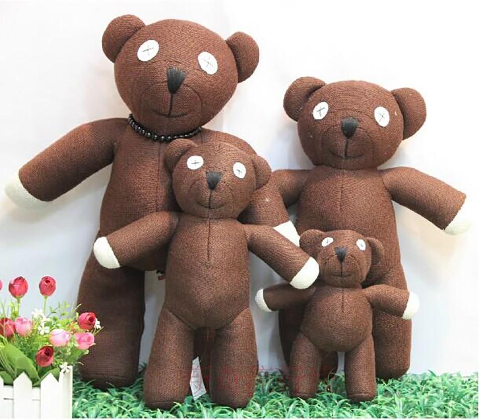 2020 новая горячая распродажа 23 см высота Мистер Бин плюшевый мишка животное плюшевая игрушка для детей подарок коричневый цвет Рождественский подарок