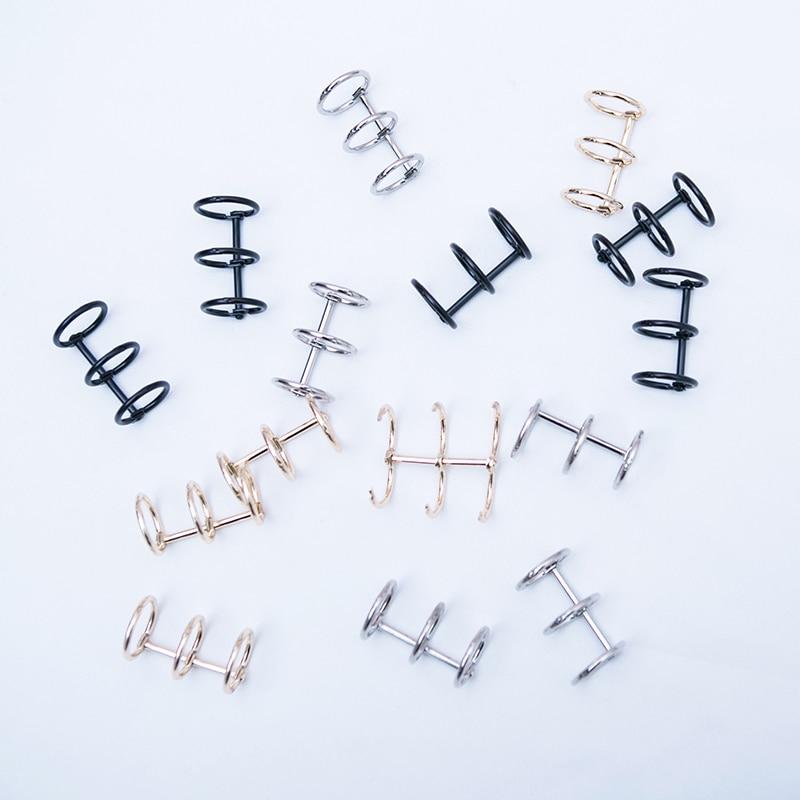 Металлические откидные кольца для блокнота Биндер для скрапбукинга альбом-календарь