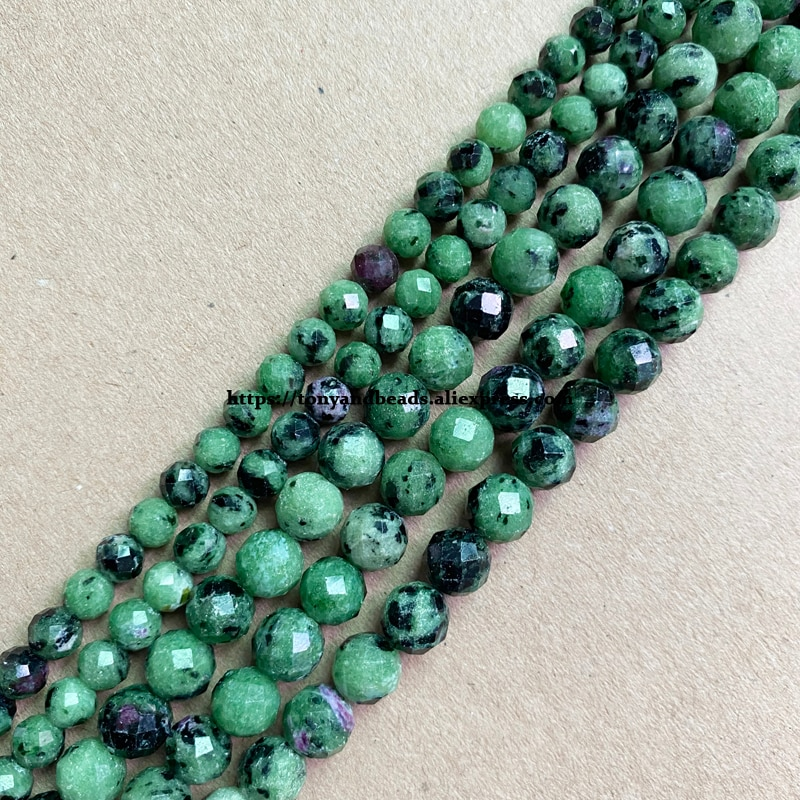 2 الكثير أكثر 10% قبالة! شبه حجر كريم قطع الماس الأوجه AA جودة الأحمر الأخضر zoprior 7