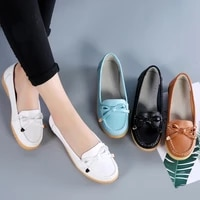 flats women shoes genuine leather ballet shoes woman flats loafers moccasins breathbale ladies shoes