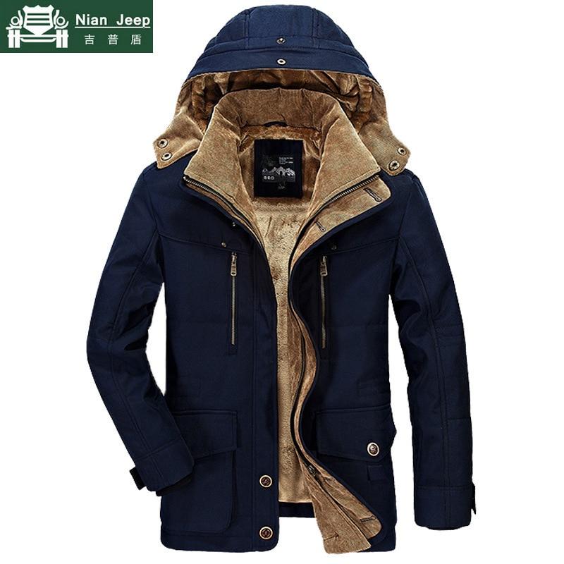 Marke Winter Jacke Männer 6XL 7XL Baumwolle Dicke Warme Parka Männliche Mit Kapuze Casual Fleece Liner Multi-Tasche Parkas Hombre invierno