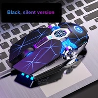 led game mice usb wired games cable mouse for pc laptop gamer7 button dpi adjustable computer optical non slip gaming mouses