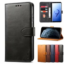 Leather Wallet Flip Cases For Samsung Galaxy S8 9 10 Plus A30S A50 A41 A51 A71 A70 A12 A22 A32 A42 A52 A72 A21S S20 S21 Fe Cover