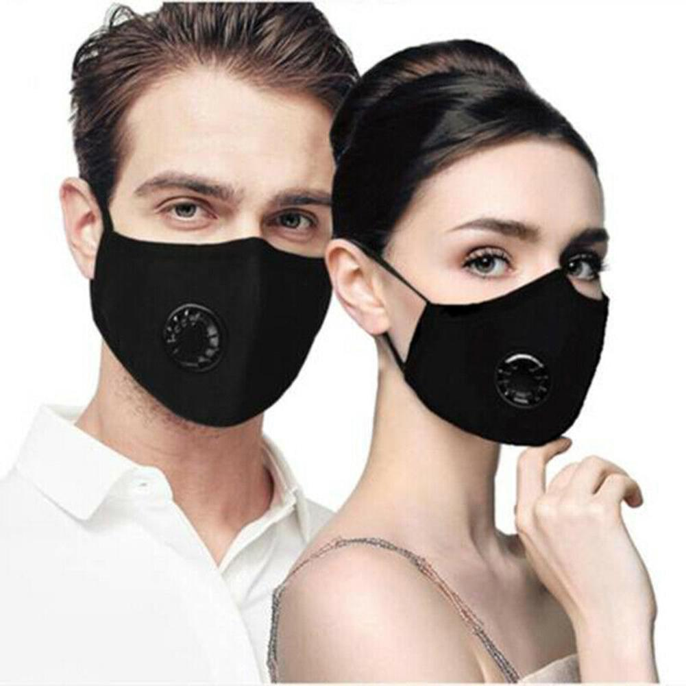 Защитный фильтр для лица, бумажный набор PM2.5, изолированный бактериальный грипп, моющийся многоразовый респиратор для езды на велосипеде