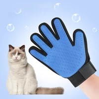 cat pet brush gloves drop soft and efficient pet grooming supplies gloves dog bathing cat cleaning supplies pet gloves comb