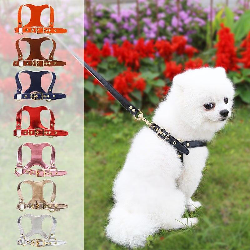 Шлейка для домашних животных со скидкой, аксессуары для домашних животных, подходит для Тедди, французского бульдога, шнауцера, модный регу...