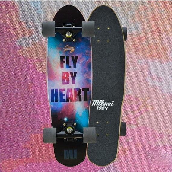 Professional Maple Skateboard Luxury 4 Wheel Skateboard Cruiser Skateboard Complete Planche De Skate Fitness Equipment DK50SB
