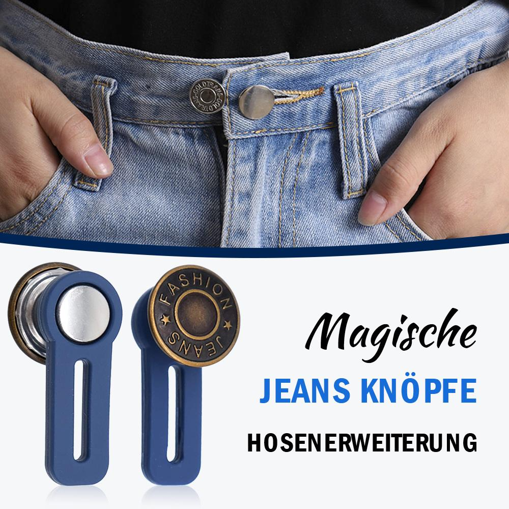 Регулируемые выдвижные пуговицы для джинсов, 1 шт.